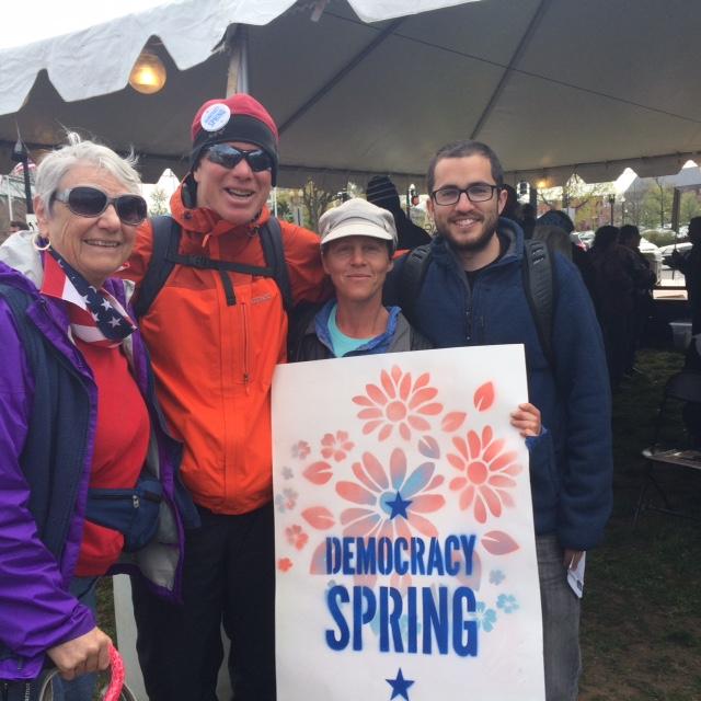 Miriam K on Democracy Spring 2